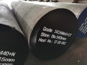 34CrNiMo6+QT Forged round steel