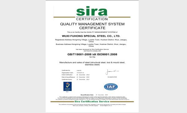 ISO-9001-FUHONG